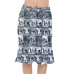 Comic book  Mermaid Skirt