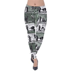 Comic book  Velvet Leggings