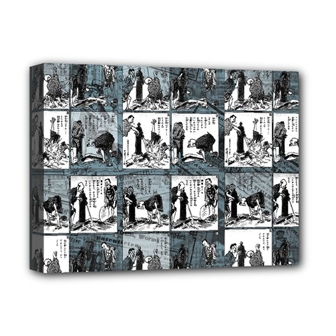 Comic book  Deluxe Canvas 16  x 12