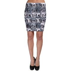 Comic book  Bodycon Skirt