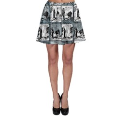 Comic book  Skater Skirt