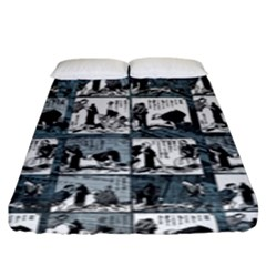 Comic book  Fitted Sheet (King Size)