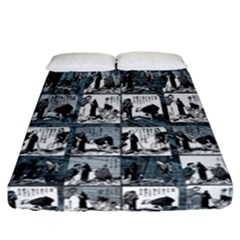 Comic book  Fitted Sheet (California King Size)