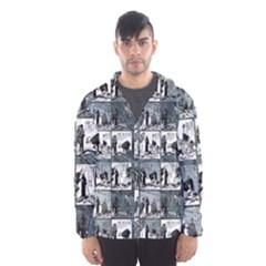 Comic book  Hooded Wind Breaker (Men)