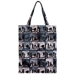 Comic book  Zipper Classic Tote Bag