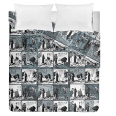 Comic book  Duvet Cover Double Side (Queen Size)