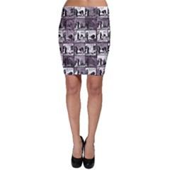 Comic Book  Bodycon Skirt