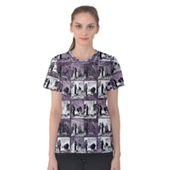 Comic book  Women s Cotton Tee
