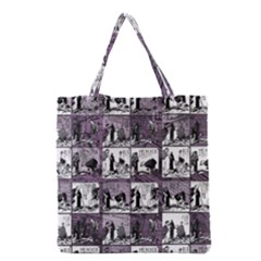 Comic book  Grocery Tote Bag