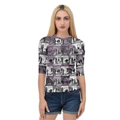 Comic book  Quarter Sleeve Tee