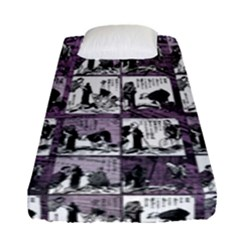 Comic book  Fitted Sheet (Single Size)