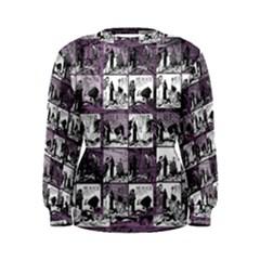 Comic book  Women s Sweatshirt