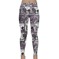 Comic book  Classic Yoga Leggings
