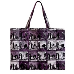 Comic book  Zipper Mini Tote Bag