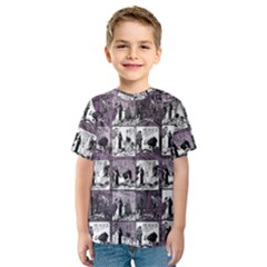 Comic book  Kids  Sport Mesh Tee