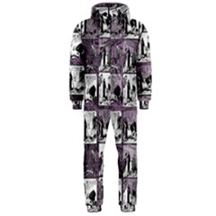 Comic book  Hooded Jumpsuit (Men)