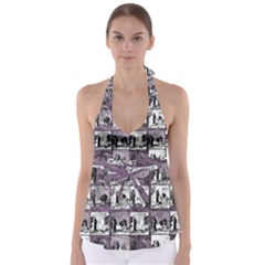 Comic book  Babydoll Tankini Top