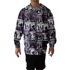 Comic book  Hooded Wind Breaker (Kids)