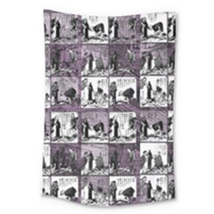 Comic book  Large Tapestry