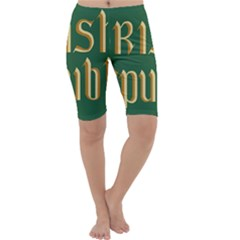 The Irish Republic Flag (1916, 1919-1922) Cropped Leggings