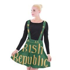 The Irish Republic Flag (1916, 1919 1922) Suspender Skater Skirt