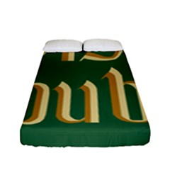 The Irish Republic Flag (1916, 1919-1922) Fitted Sheet (Full/ Double Size)