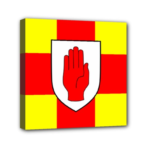 Flag of the Province of Ulster  Mini Canvas 6  x 6