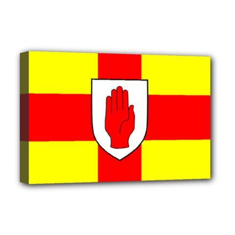 Flag of the Province of Ulster  Deluxe Canvas 18  x 12