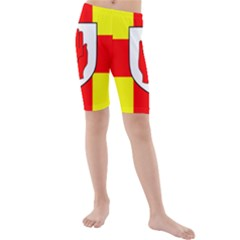 Flag of the Province of Ulster  Kids  Mid Length Swim Shorts