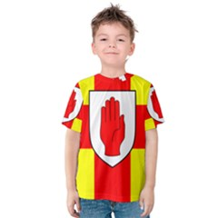 Flag of the Province of Ulster  Kids  Cotton Tee