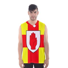 Flag of the Province of Ulster  Men s Basketball Tank Top