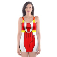 Flag of the Province of Ulster  Skater Dress Swimsuit