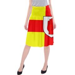 Flag of the Province of Ulster  Midi Beach Skirt