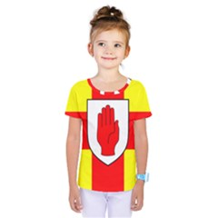 Flag of the Province of Ulster  Kids  One Piece Tee