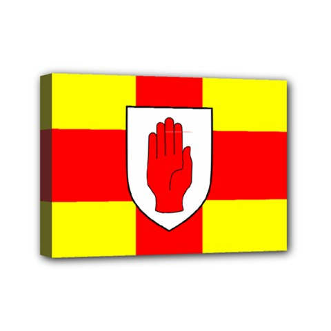 Flag of the Province of Ulster  Mini Canvas 7  x 5