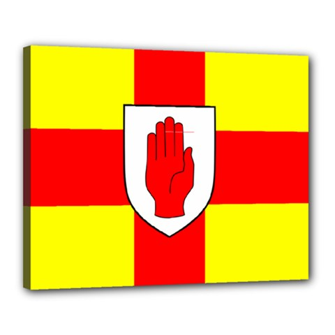Flag of the Province of Ulster  Canvas 20  x 16