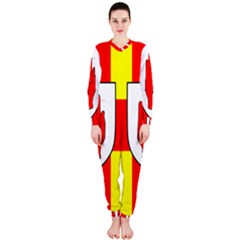 Flag of the Province of Ulster  OnePiece Jumpsuit (Ladies)