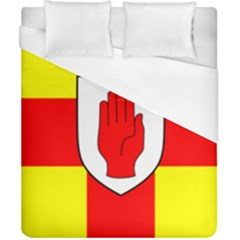 Flag of the Province of Ulster  Duvet Cover (California King Size)