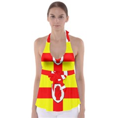 Flag of the Province of Ulster  Babydoll Tankini Top
