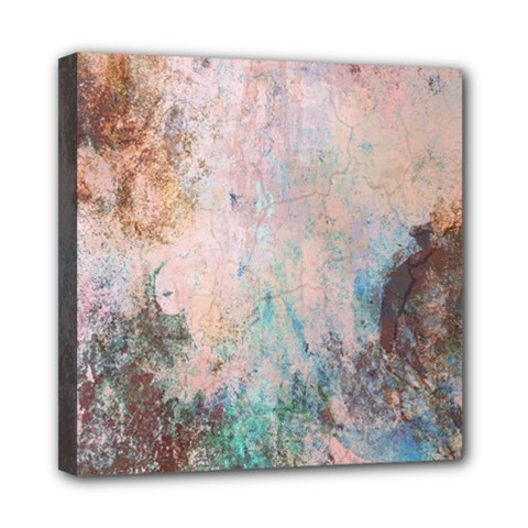 Cold Stone Abstract Mini Canvas 8  X 8