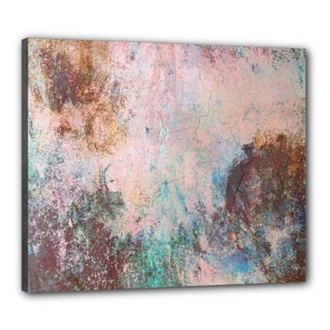 Cold Stone Abstract Canvas 24  x 20