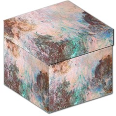 Cold Stone Abstract Storage Stool 12