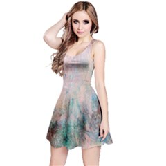 Cold Stone Abstract Reversible Sleeveless Dress