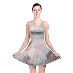 Cold Stone Abstract Reversible Skater Dress