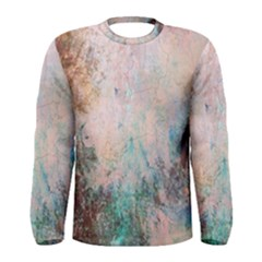 Cold Stone Abstract Men s Long Sleeve Tee