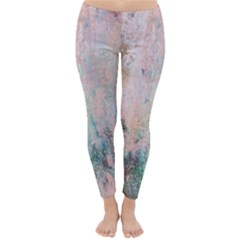 Cold Stone Abstract Classic Winter Leggings