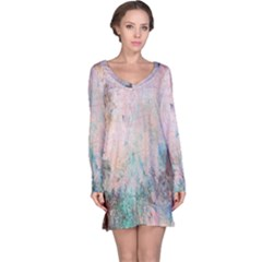 Cold Stone Abstract Long Sleeve Nightdress