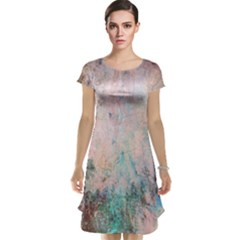 Cold Stone Abstract Cap Sleeve Nightdress