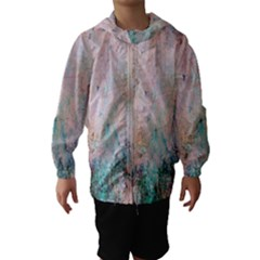Cold Stone Abstract Hooded Wind Breaker (Kids)