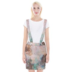 Cold Stone Abstract Braces Suspender Skirt